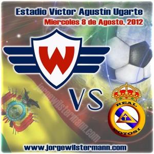 Wilstermann enfrenta esta noche a Real Potosí