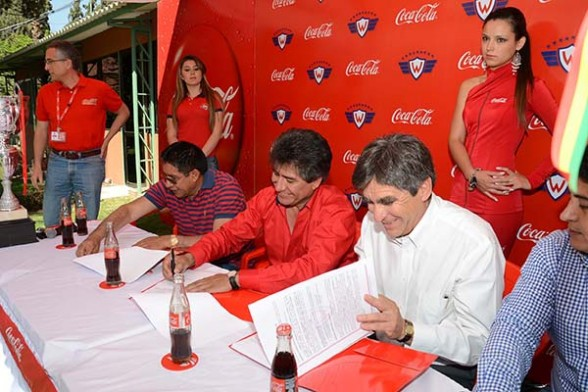 Coca Cola sponsor oficial de Wilstermann