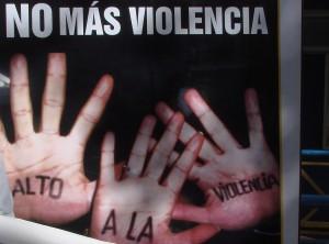 No a la violencia en las tribunas