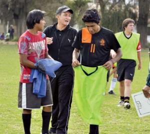 Juveniles de Wilster comienzan sesiones de fútbol