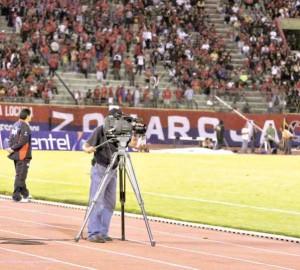 Fútbol por TV recién en marzo