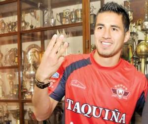 El delantero Rodrigo Ramallo se ha convertido en una de las piezas fundamentales del equipo titular