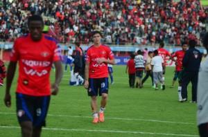 San José sorprendió a Wilstermann la tarde del domingo en el estadio Jesús Bermúdez