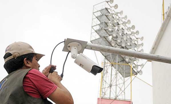 Se instalan 36 cámaras de seguridad en el estadio Capriles