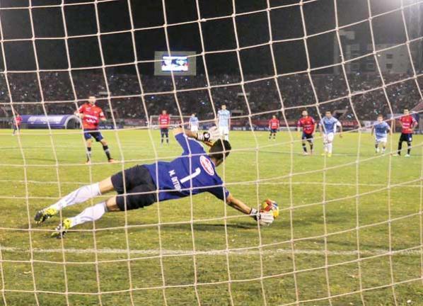 2-0 Aurora vence a Wilstermann; respira y todavía tiene pulso