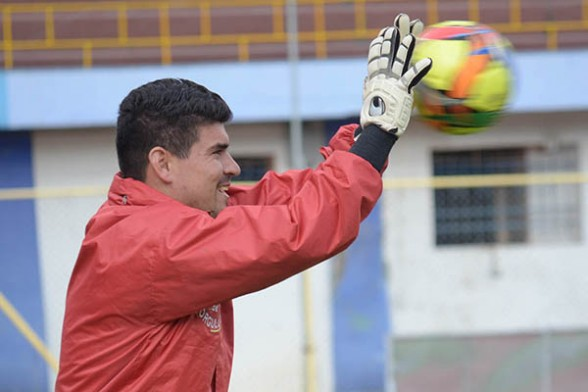 Hugo Suárez se restablece favorablemente de un desgarro en la pierna derecha