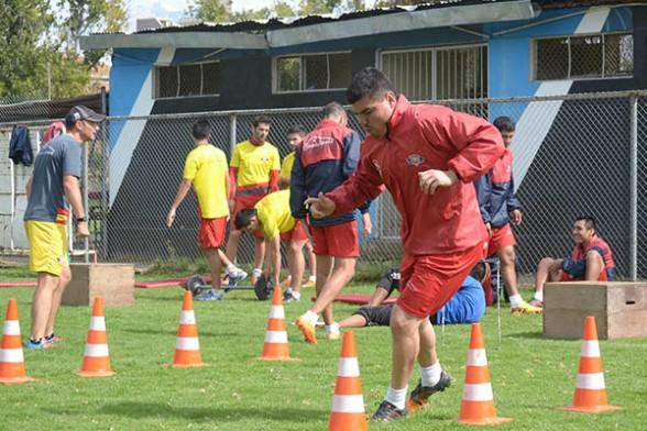 tres novedades en el equipo: Rodrigo Ramallo, Amílcar Sánchez y Osvaldo Medina