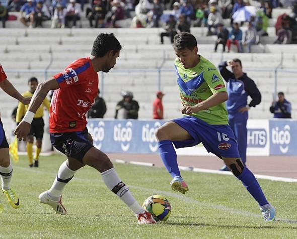 Wilstermann gana 1-0 a San José en Oruro