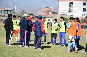 20 jugadores juveniles que serán sometidos a nuevas pruebas para formar parte del equipo