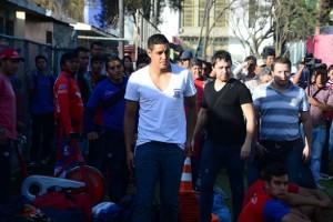 """""""Vengo a hacer goles"""", expresó el atacante uruguayo Leonardo Rivero de 30 años, quien llegó ayer en horas de la tarde a la ciudad de Cochabamba"""