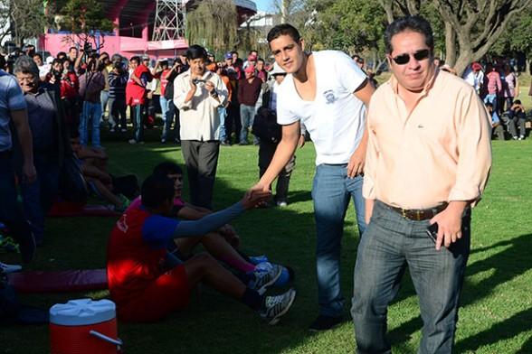 Marcelo Gomes y Leonardo Rivero con lesiones que preocupa a la dirigencia