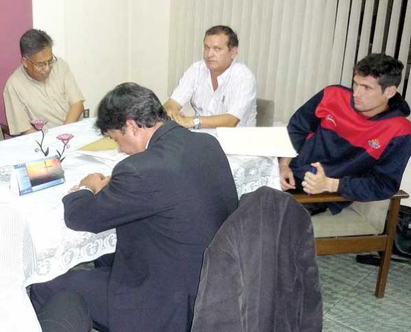 Matías Dituro declara en el TRD y espera fallo