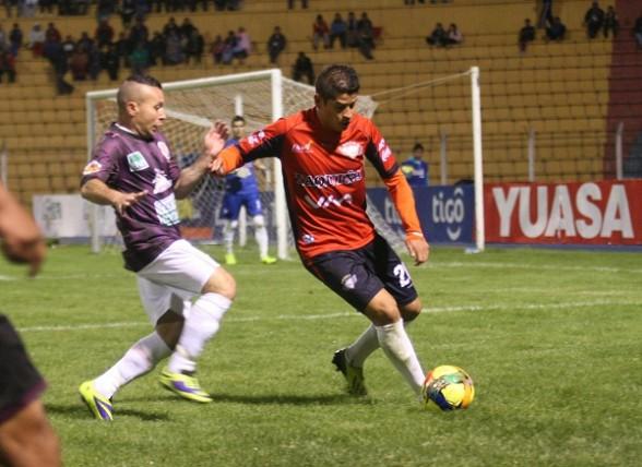 Wilster iguala con Real Potosí 1-1