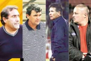 Cuatro técnicos en lista