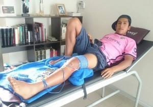 Sánchez fue operado