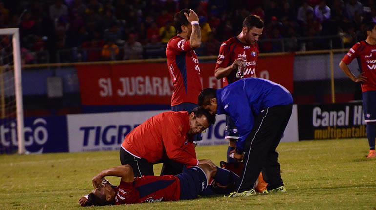 David Díaz se perderá el resto del campeonato