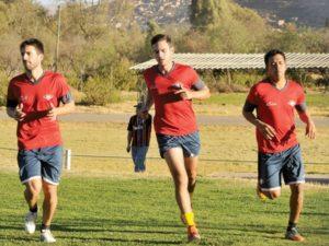Saucedo y Ayala, las caras nuevas en el once de Wilster