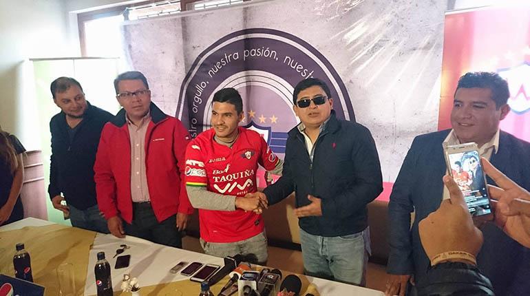 """""""Pochi"""" Chávez: Vengo a ganar cosas con Wilstermann"""