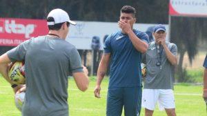Díaz es duda para partido ante Peñarol
