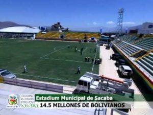 Sacaba ofrece su estadio para los partidos de Wilstermann