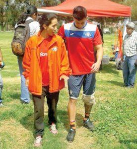 Aviador Suárez sufre una distensión de ligamento