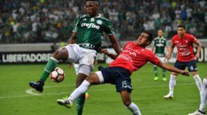 Wilster pierde ante Palmeiras con agónico gol