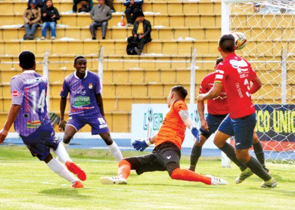 Real Potosí deja el fondo y empuja a Wilster (4-0)