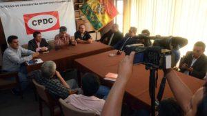 CPDC levanta medida y retoma cobertura