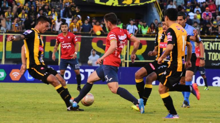 [VIDEO] Wilstermann y The Strongest empatan en el Félix Capriles