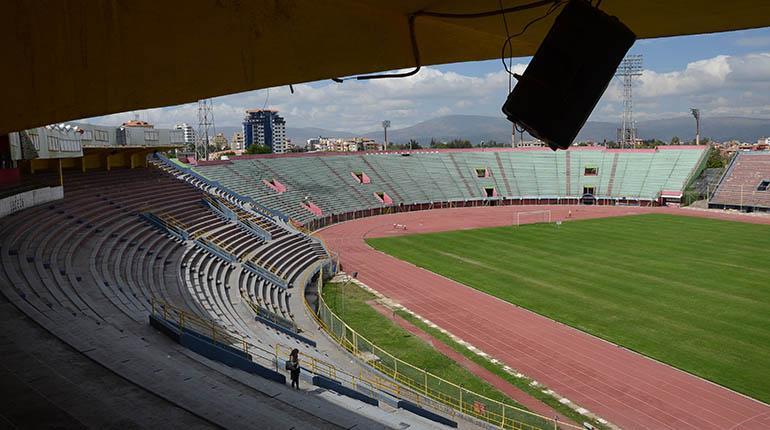 Refacciones en el estadio iniciarán tras el partido de Wilster con River Plate