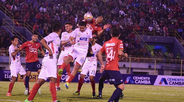 Wilster-Guabirá, en el Félix Capriles