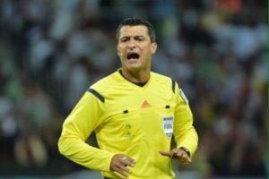 Cambio de árbitro para el partido River-Wilstermann, ante la lesión de Tobar