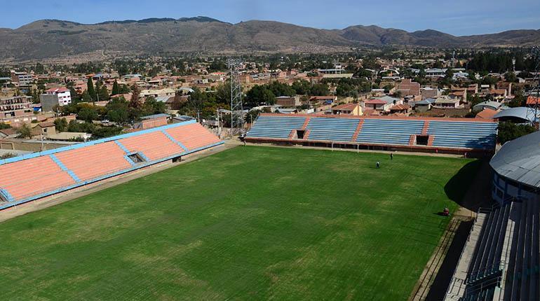 El estadio Municipal Sacaba es la nueva casa de Wilstermann