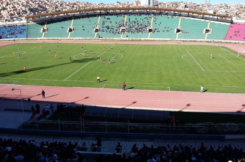 El estadio Patria de Sucre, 90% confirmado para los partidos de la Copa Libertadores
