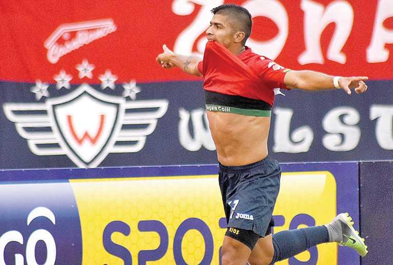 Ríos será habilitado hoy en el Rojo y podrá jugar ante Guabirá