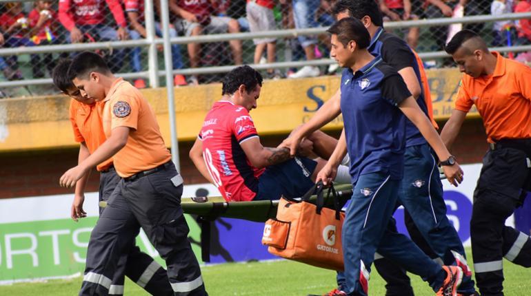 Omar Morales es nuevamente baja en Wilstermann