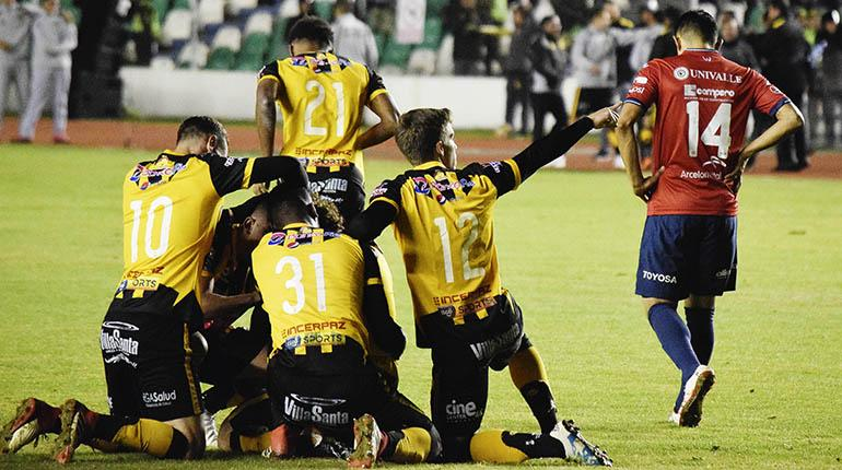 [VIDEO] Wilstermann cae en partido de ida contra The Strongest