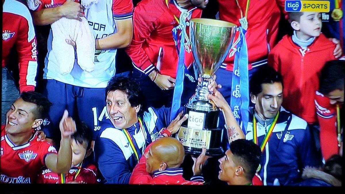 [VIDEO] Wilsterman campeon del Futbol professional Boliviano