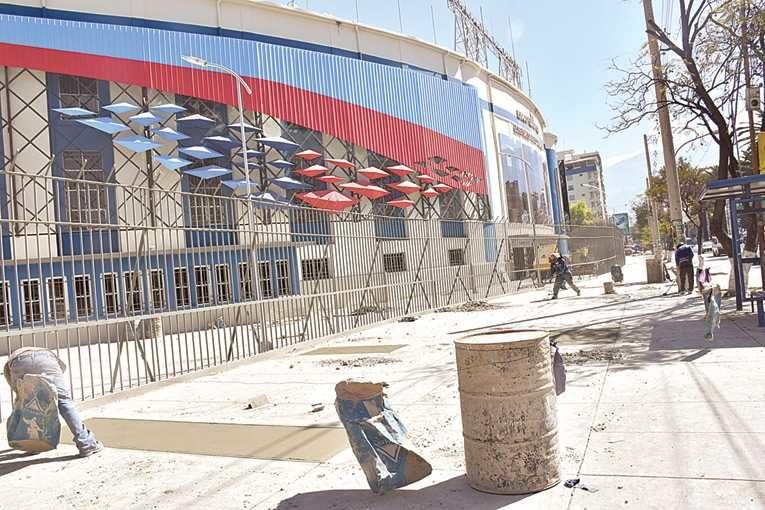 La incertidumbre reina en torno al estadio Capriles