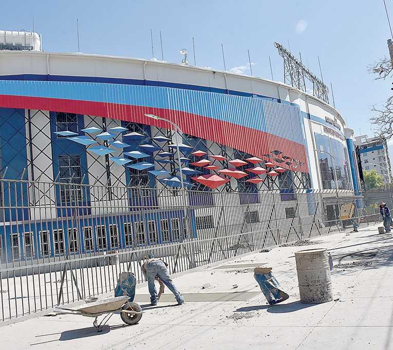 Canelas observa cinco problemas en el estadio