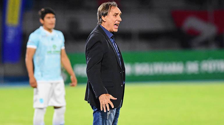 """Técnico Miguel Ángel Portugal: """"Para nosotros es importantísimo ganar el partido contra Boca Juniors"""""""