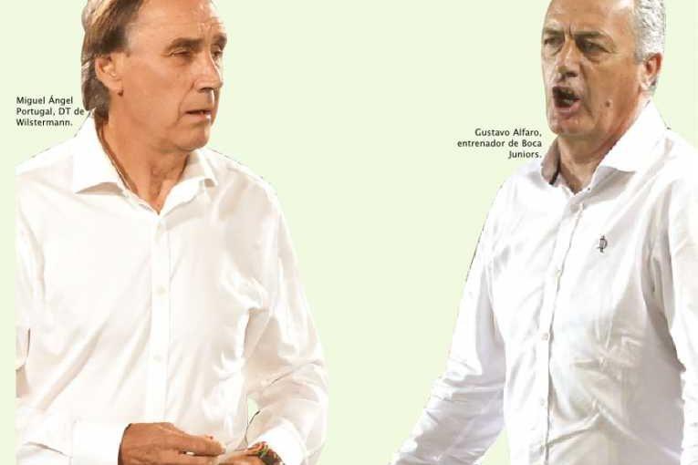 """Miguel Portugal y Gustavo Alfaro, cara a cara en duelo """"a muerte"""""""