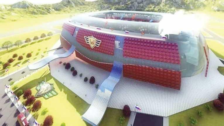 Proyecto de estadio rojo requiere apoyo del Gobierno