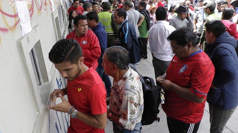 Wilstermann: Dos personas podrán ingresar con un boleto al partido ante Real Santa Cruz