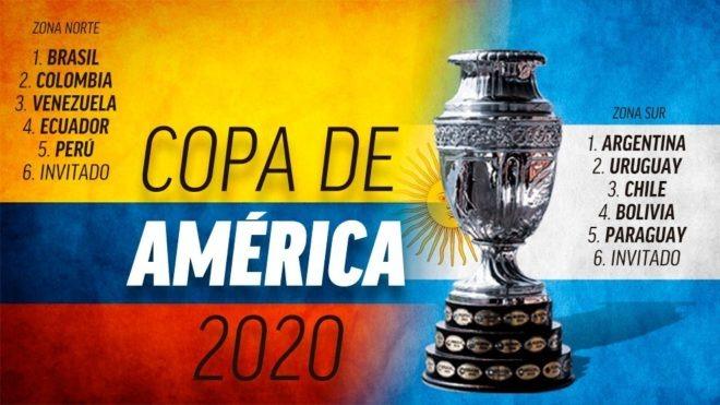 Conmebol y UEFA aplazan a 2021 la Copa América de Colombia y Argentina