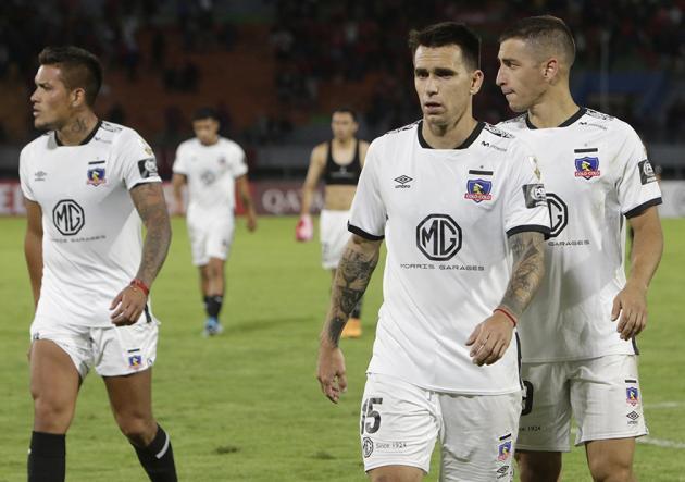 Colo Colo fue multado por Conmebol por incidentes contra Wilstermann