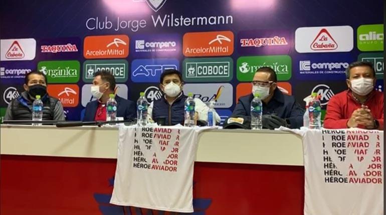 """Wilstermann se une a la causa: """"Héroe Aviador"""" de donación de plasma hiperinmune"""