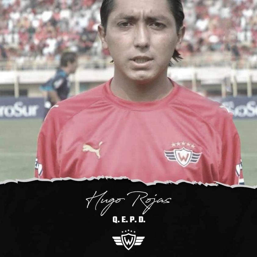 Fallece Hugo Rojas, exfutbolista cochabambino que jugó en Wilster