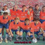 Equipo 1998  Arco: Loco Soria, Defensas: Carballo, Cuenca, Kekes, Morejon, Medio Campo: Villarroel, Rios y Sanchez, Delanteros: Gonzales, Eterovich y Zozani