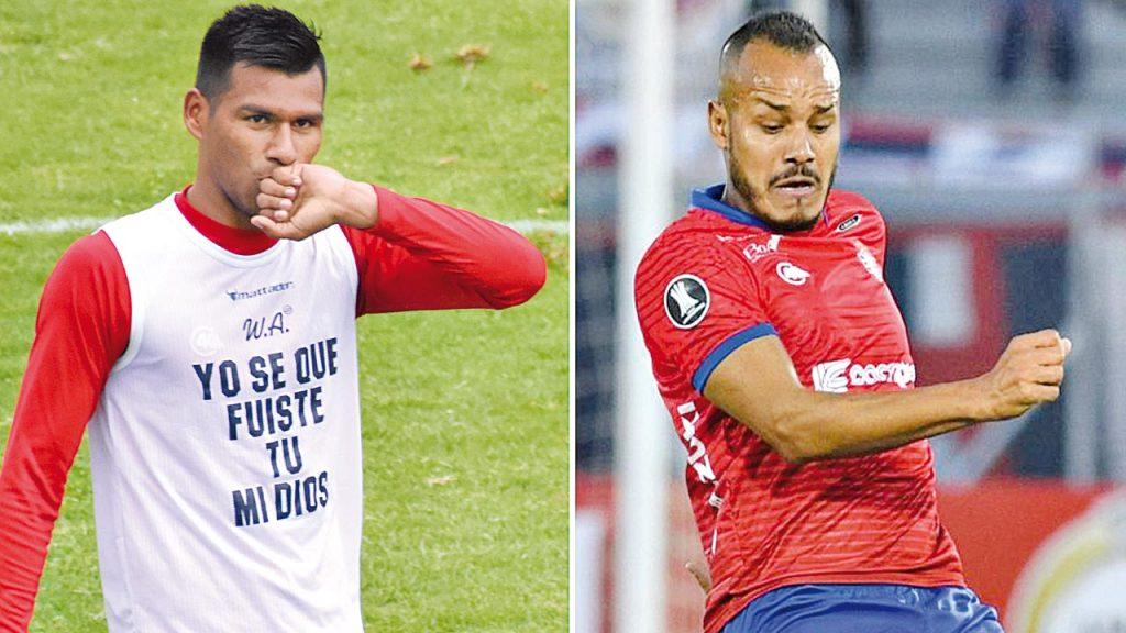Wilster negocia el retorno de Ismael Benegas y Willan Álvarez